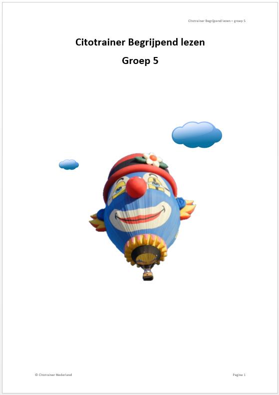 Citotrainer Begrijpend lezen Boekje 1 - Groep 5 (pdf-bestand)