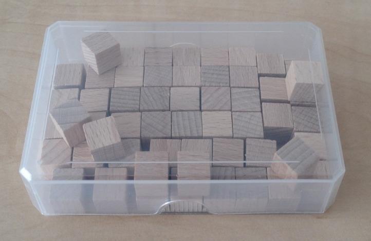 50 houten blokjes