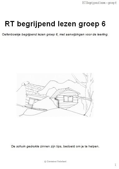 Wonderbaarlijk RT Begrijpend lezen groep 6 (pdf-bestand)   Begrijpend lezen XT-43