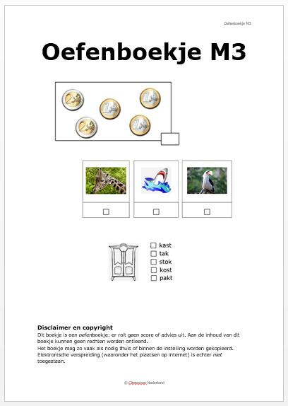 Oefenboekje voor de Citotoetsen midden groep 3 (pdf-bestand)