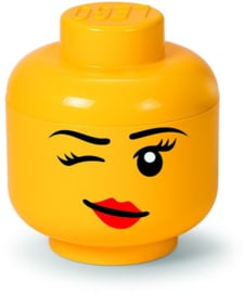Lego storage head girl maat S
