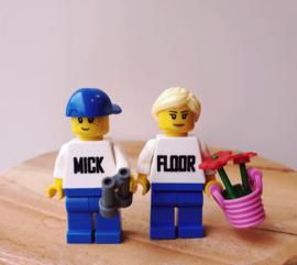 Los Lego poppetje (aanvulling voor duo display)