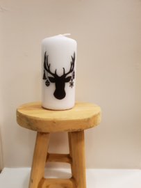 Kerstkaars Deer Medium
