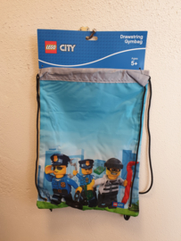 Lego City Police Chopper gymtas