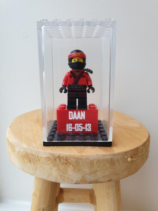 Ninjago Kai met tekst blokje en display