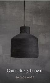 Hoffz hanglamp Gauri dusty brown