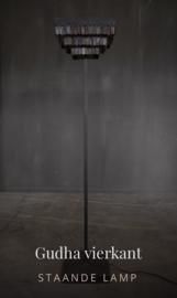 Hoffz Gudha staande lamp vierkant