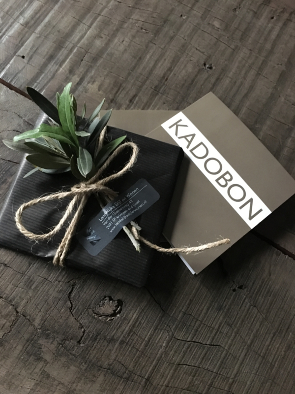 Kadobon € 30,00