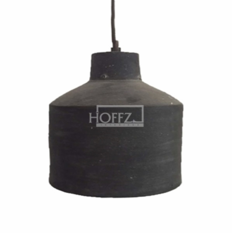 Hoffz hanglamp keramiek dusty Grey