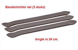 Bandenlichter set (3 stuks) lengte 24 cm. (9M3907)