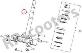 Neco GPX 50 (2-takt / watergekoeld) - Kroonstuk (nr. 1) - MQBY-51200-0000