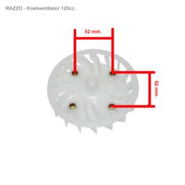 Razzo Steed (125cc) - Koelventilator