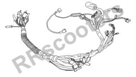Baotian Classico (50cc.) - Kabelboom