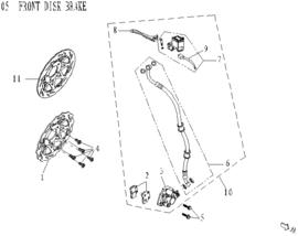 BTC Trevis - Remblokken VOOR - nr. 2 - (VAK B-60)