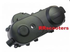 26 - kickstartdeksel / variodeksel links zwart 10 inch. / Carterdeksel (G-189298) (VAK D-9)