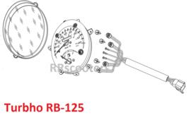 Turbho RB-125 / Tellerset (70000-EGJ00)
