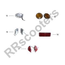 BTC Tres - Koplamp (nr. 15) - TRES 33100-ACAE-9000