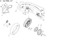 BTC Trevis - Remblokken ACHTER - nr. 20 - QBV-57131-0000