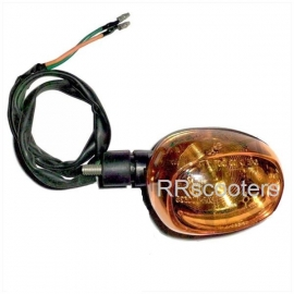 Knipperlicht / Richtingaanwijzer Pico RECHTS ACHTER met oranje glas (VAK P-15 + B-169)