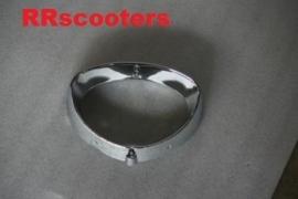 VOM - ZN50QT F (F8) - Koplampring chroom - 50QT-F / Baffi (VAK V-15)