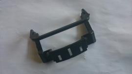 12 - Retro Scharnier zwart kunststof inspectieklepje / benzineklep Retro (VAK C-2A)