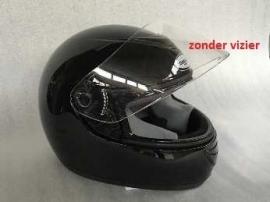 Helm - Integraal - kleur: zwart (demo) - maat: L (58 cm.) (ZONDER VIZIER)