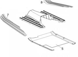 Neco Abruzzi '65 - Voetrubber LINKS - nr. 7 - J08-X1910-00