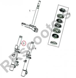 Neco Alexone (EFI) - Schokbreker RECHTS VOOR (nr. 3) - M51400-FT09-0000