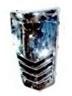 Razzo Venice - Centrale Voorkap  (kleur: chroom ) - TI31-070600001 B