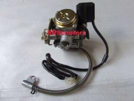 Carburateur Universeel (50cc. / 4-takt) voorzien van 84 sproeier  (VAK C-90 + C-91)