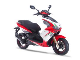 Neco GPX-50 'R' (4-takt / AC) - kleur: Rosso Racing  (Euro 4)