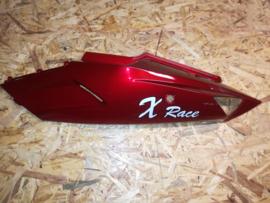 VOM - Xrace/F22 - Achterscherm Links - Bordeaux (met Logo) - (VAK Z-60.02)