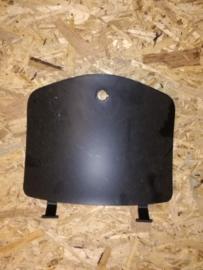 Kappen - China LX - Deksel Beenschild - Kleur:  Mat Zwart / Mat Antraciet (VAK Z / 61-03)