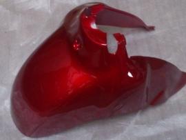 Kappenset, Voor spatbord, kleur: Bordeaux Rood (VAK E)