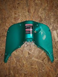 8 - Retro kappenset, Beenschild gelakt, kleur: Donker Groen (CNSY - 81132-SGA9-9000) - (VAK Z))