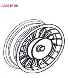 AGM SP-50 - Achtervelg (33 015)