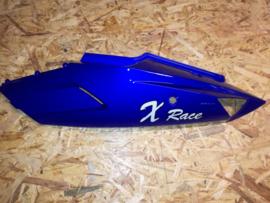 VOM - Xrace/F22 - Achterscherm Links - Blauw (met Logo) - (VAK Z-60.02)