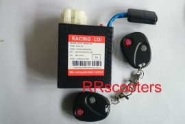 CDI, snelheid met afstandsbediening instelbaar (VAK B-6)