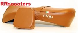 1 - IVA Roma - zadel (bruin/cognac)