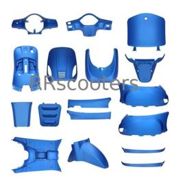 China LX - Kappenset compleet -  (kleur: mat blauw)