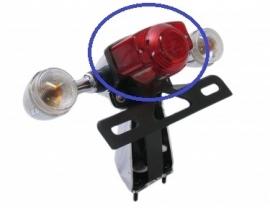 Achterlicht glas Retro (los glas) (VAK C-66)