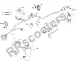 Neco Abruzzi (50 cc.) - Cdi 25 km/u (nr. 12) - (MJ08-61900-00-25)