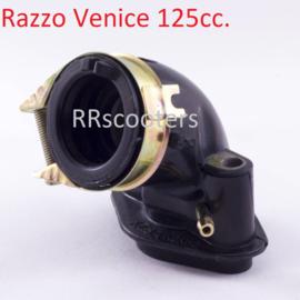 Razzo Venice 125cc. - Inlaatspruitstuk (1-weg) -88M381 - (VAK B-119)