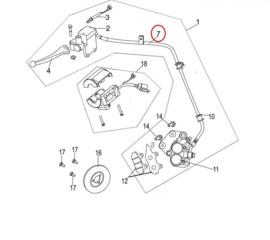 Neco Abruzzi  - Remslang/Remleiding (links) ACHTER - MJ08-31260-00