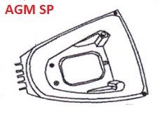 AGM SP-50 - Buddybak / Helmbak (33 021)
