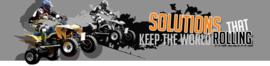 Ride-On SCOOTER / Voor & Achterband laten vullen.