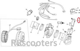 Neco Abruzzi (125cc - EFI) - Afdekking inspuit nozzle (nr. 5) - MJ08-11403-00