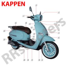 GTS Cappucino - Kappen - (nr. 1) - Tellerkap