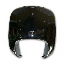 kappenset, voorfront/voorkap, type druppel, kleur zwart