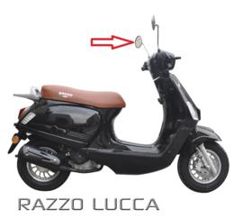 Razzo Lucca - Spiegel Chroom Links (M8)